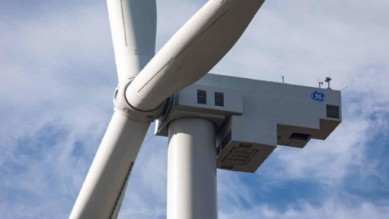 Ge - energia eólica - Bahia - Turbina