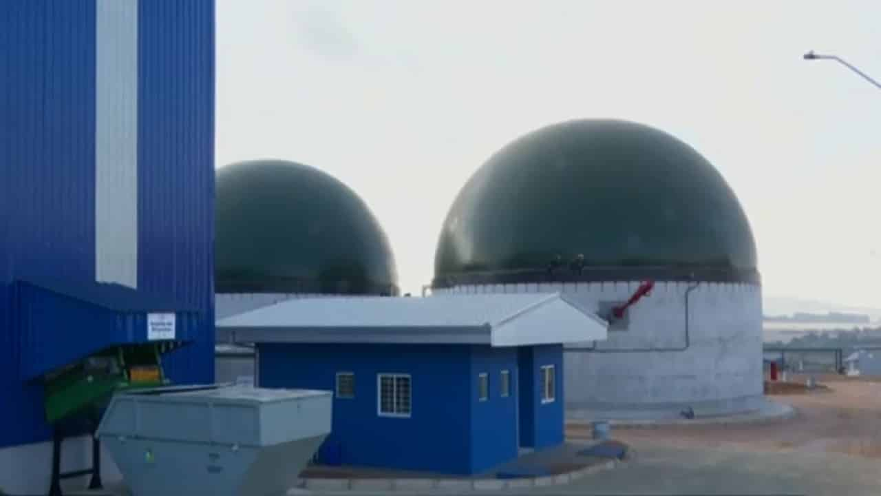 usina- termelétrica - Ponta grossa - PR -Biogás