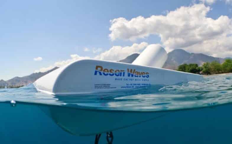Resen Waves energia das marés energia das ondas eletricidade óleo e gás