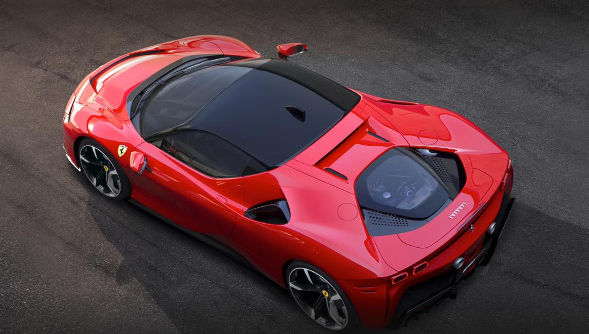 Ferrari / meio ambiente / carro elétrico