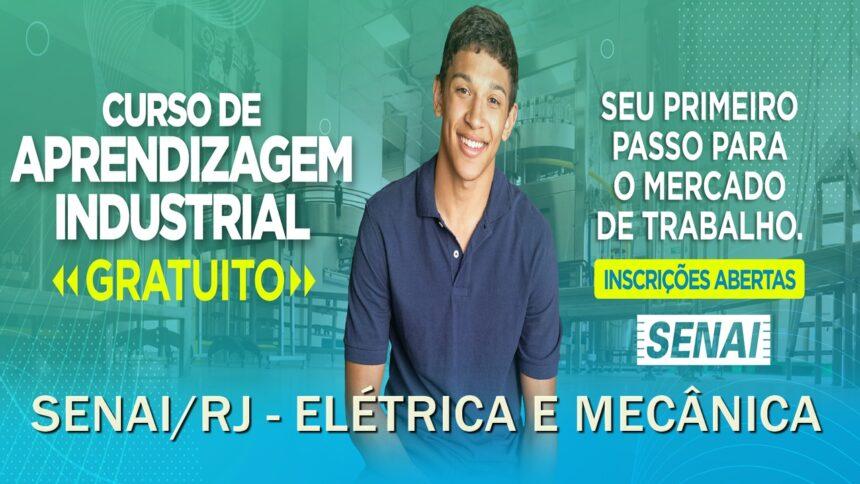 Senai - cursos gratuitos - qualificação profissional - vagas - Campos - RJ - Elétricista - mecânico