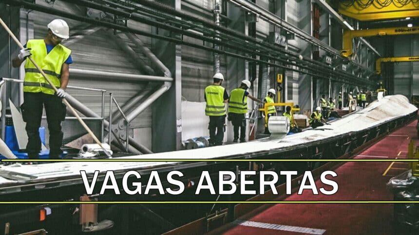 siemens - vagas - empregos - fábrica - sp - ba - rn - sem experiência