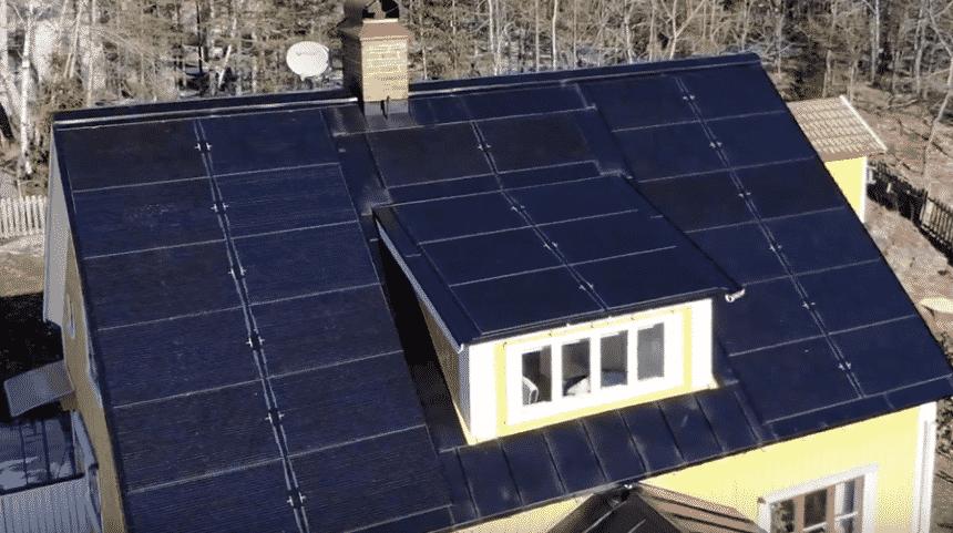 Tesla - Energia Solar - Telhado solar