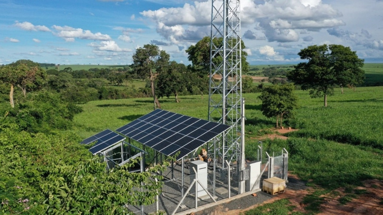 Tim - 4G - energia solar -