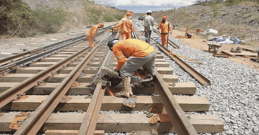 ferrovia - obras - Mato Grosso