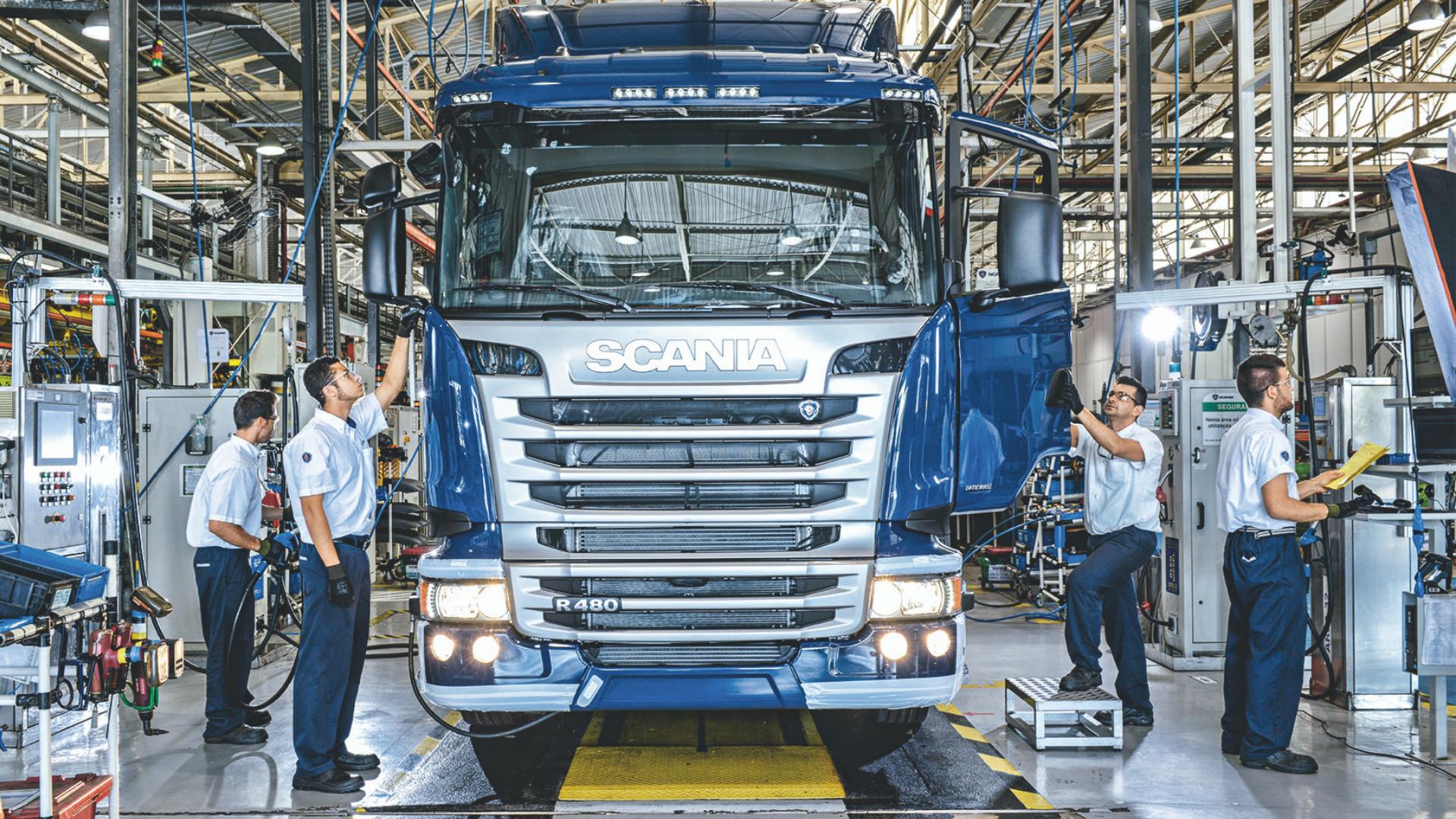 Scania – emprego – técnico – São Paulo