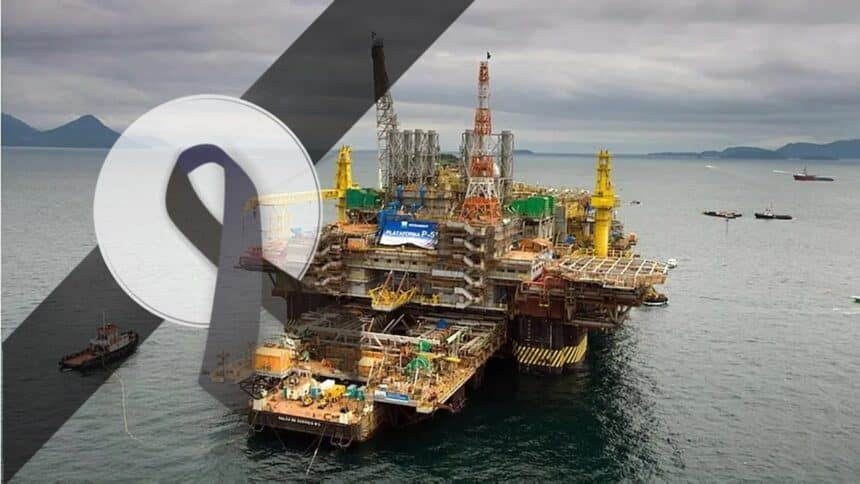Petrobras - acidente - morte - plataforma - bacia de campos