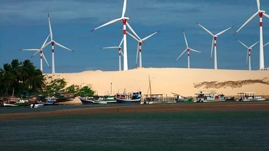 usinas - turbinas - vortex - WEG - GE Renewable - pás eólicas - bahia - ceará - piauí - emprego
