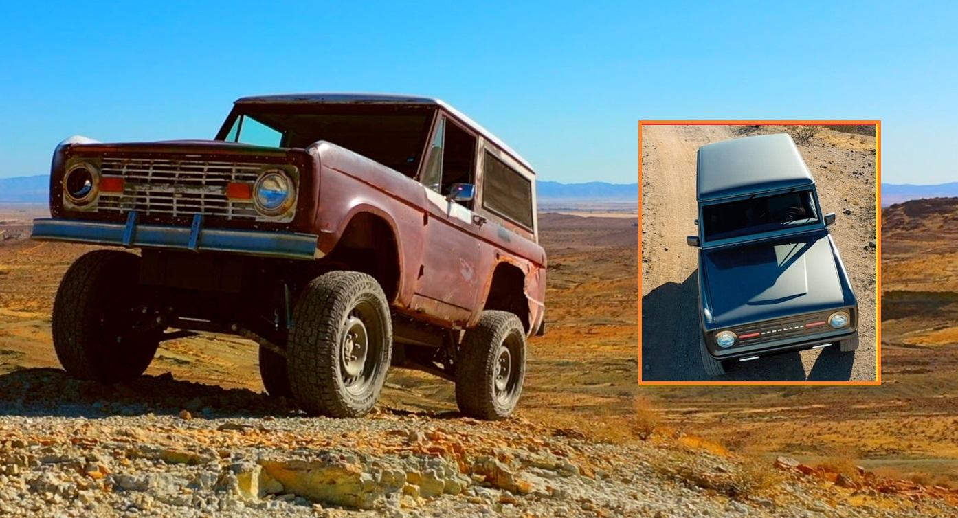 Veículo elétrico - gasolina - diesel - Ford Broncos