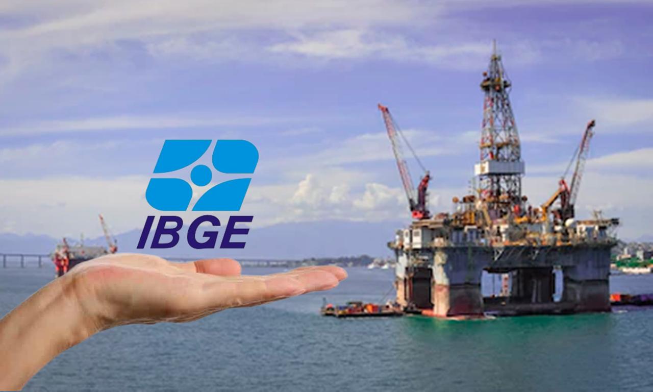 petróleo e gás IBGE SETOR DE SERVIÇOS