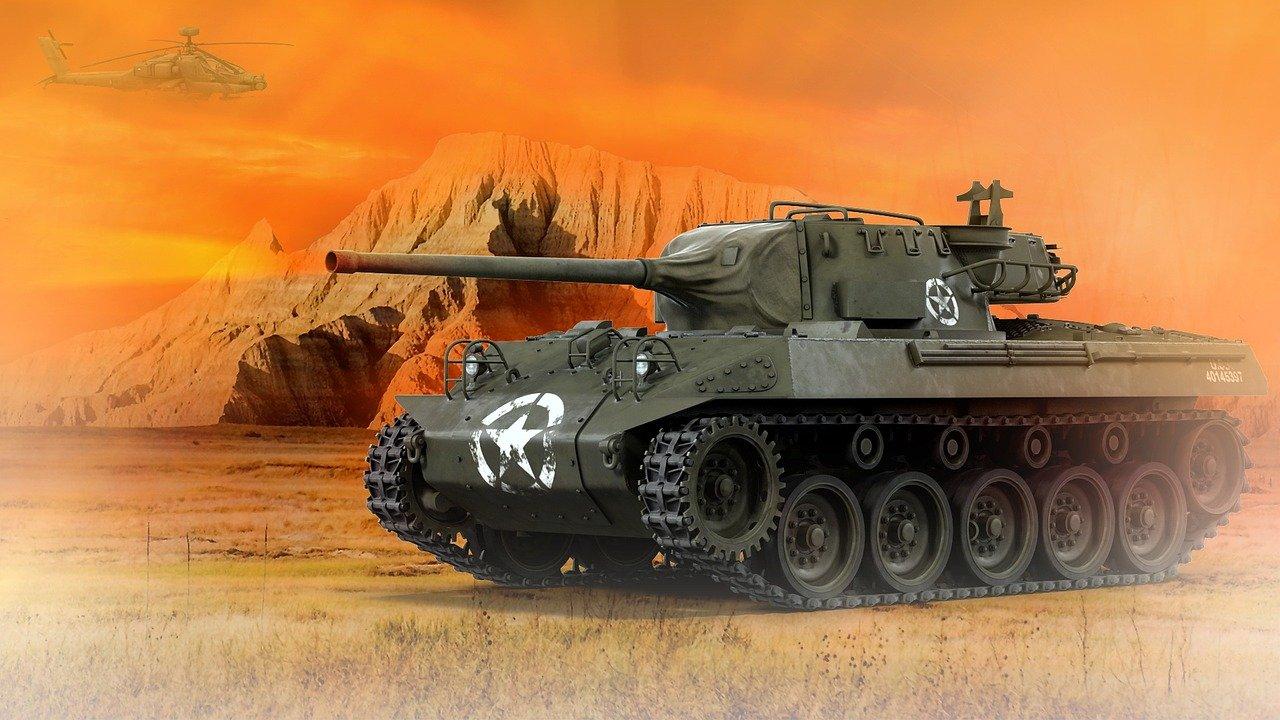 Tanque de Guerra / Imagem de Brijesh Patel por Pixabay