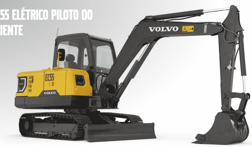Volvo / escavadeira elétric