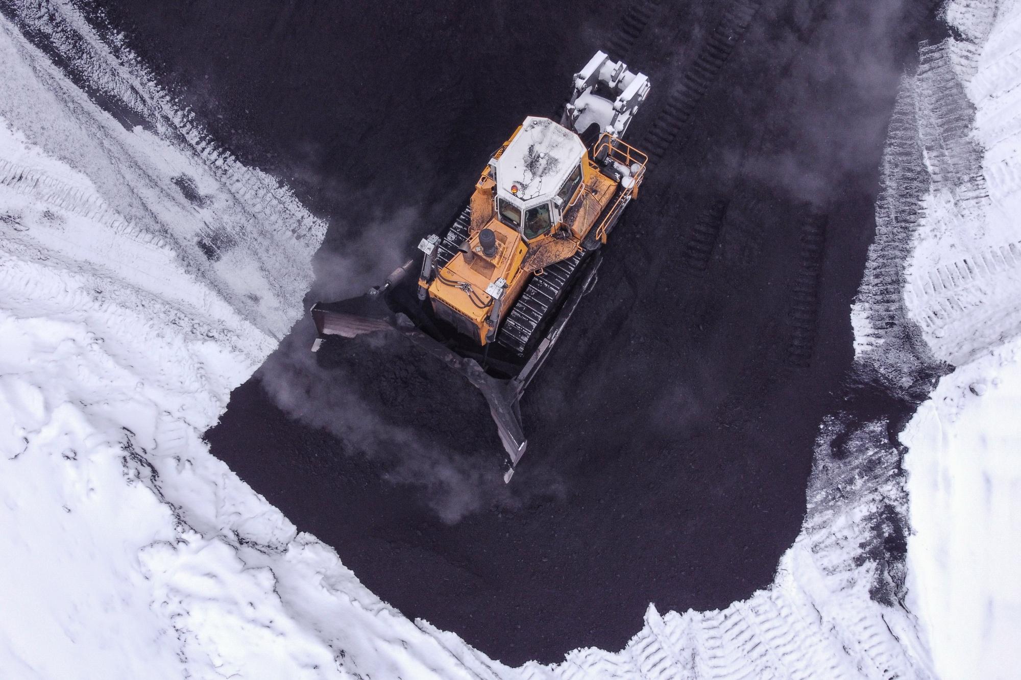 russia china carvão meio ambiente ferrovia