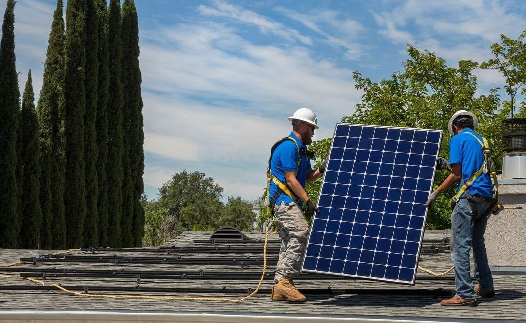 energia solar energia limpa painéis solares