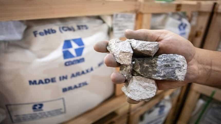 nióbio - preço - bateria - mineração - tecnologia