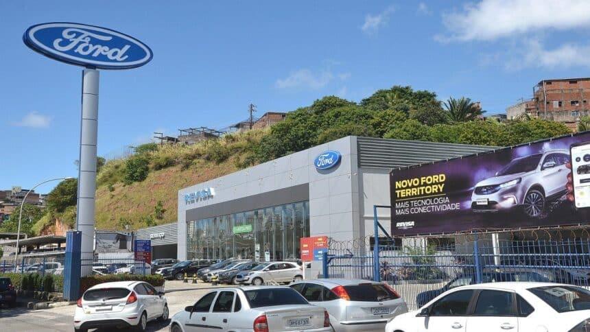 Fábricas - multinacional - Ford - Bahia -concessionaria - São Paulo