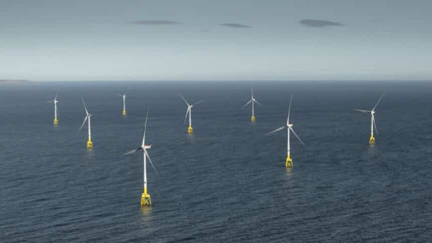 usina - energia eólica - offshore - indústria