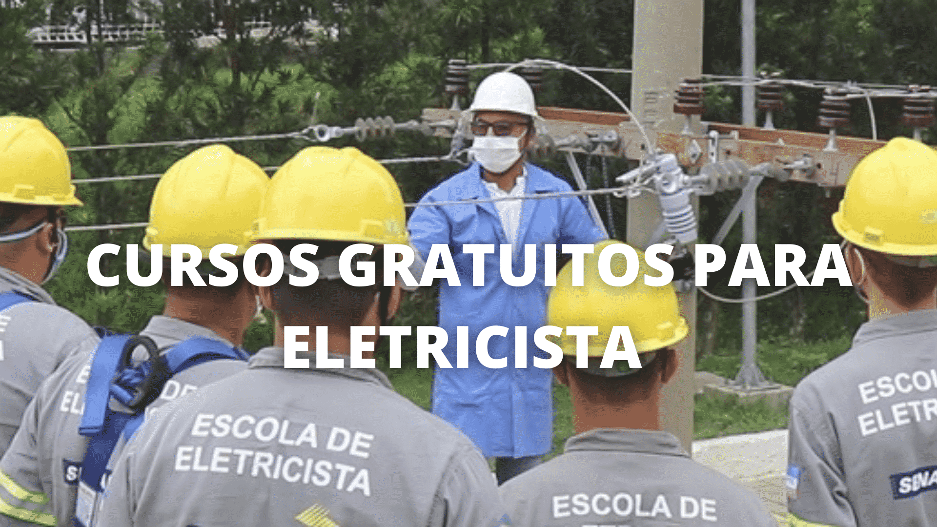 Curso gratuito – eletricista – Espírito Santo
