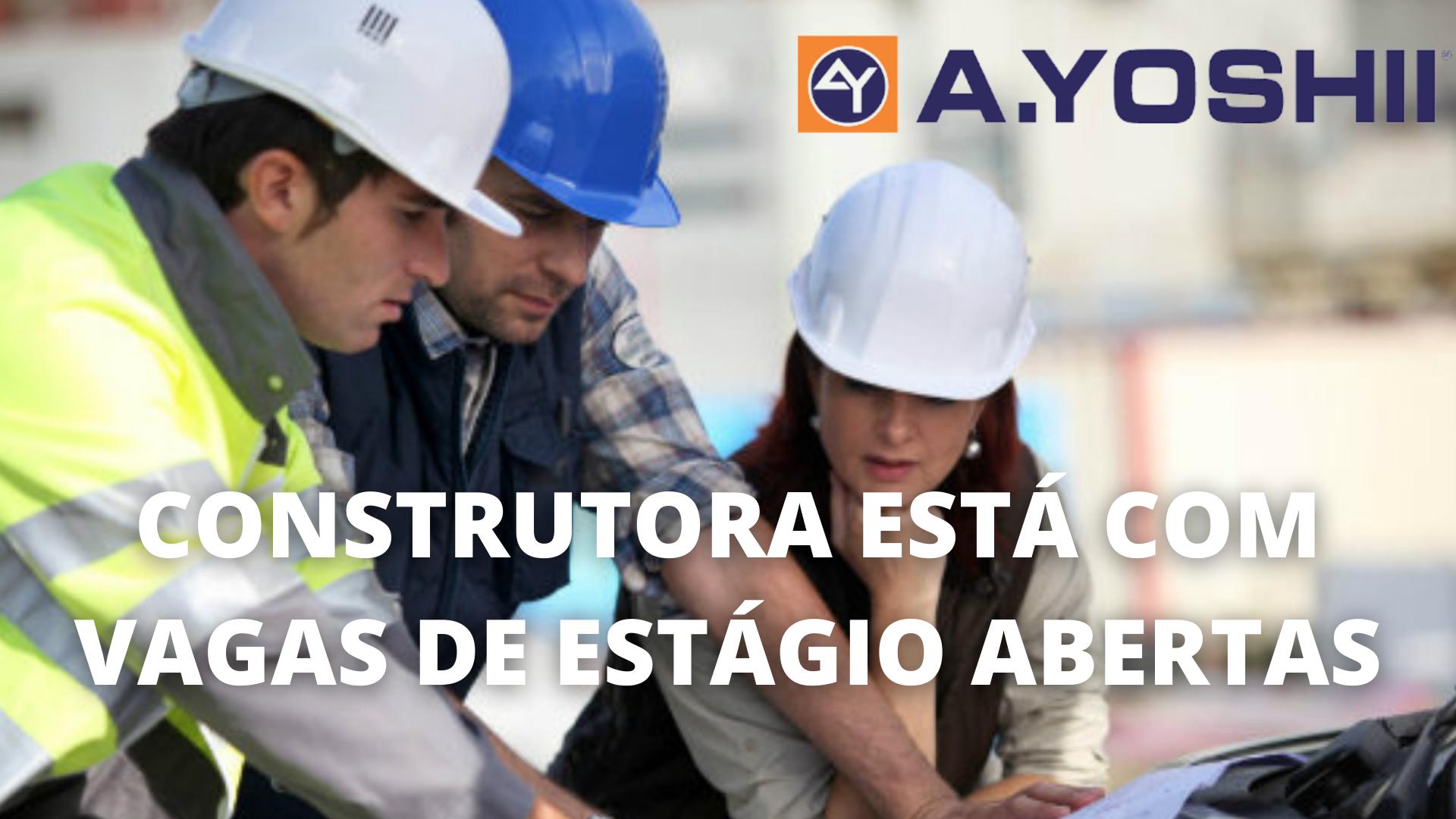 Construtora – estágio – Paraná