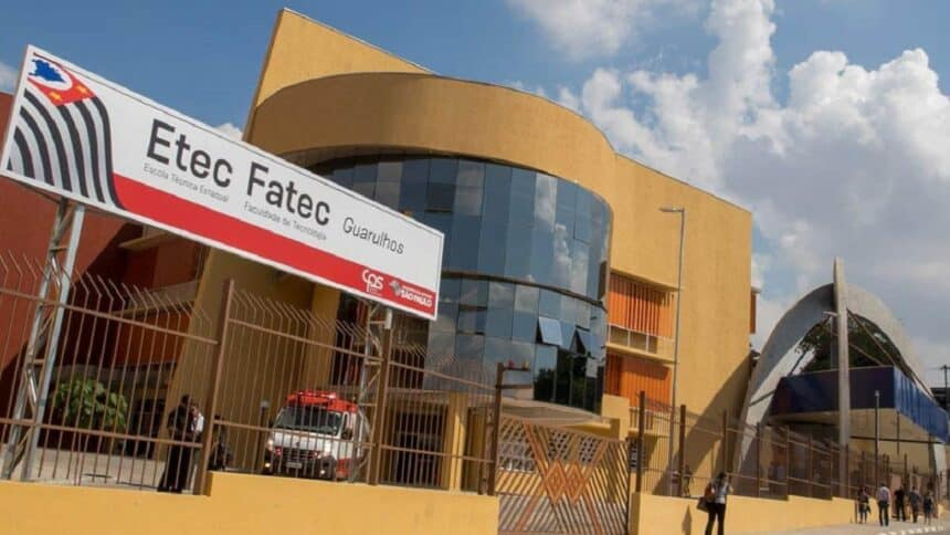Fatec -ETC - cursos gratuitos - EAD - vagas - SP
