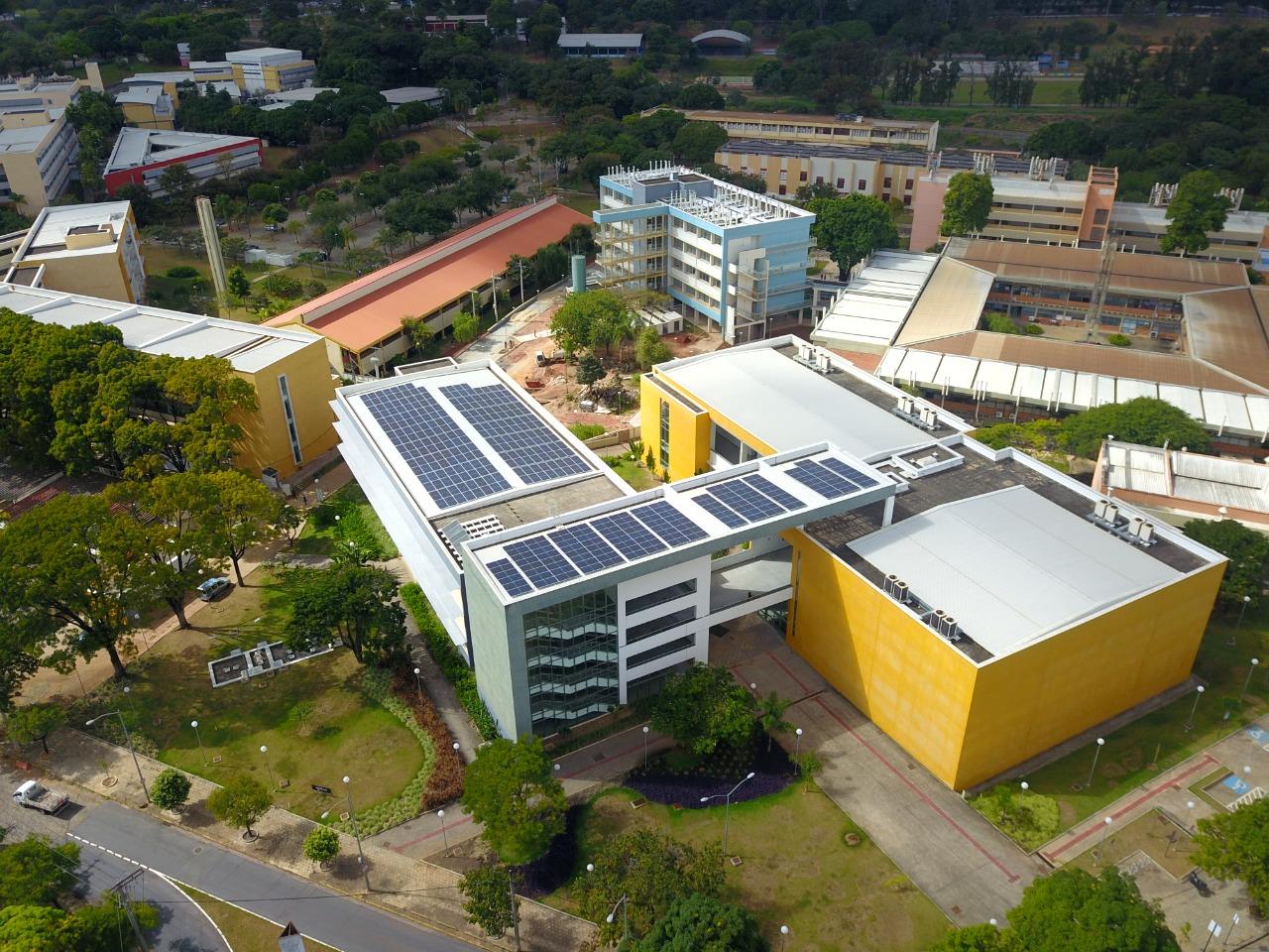 usina solar UFMG - UFV - energia solar