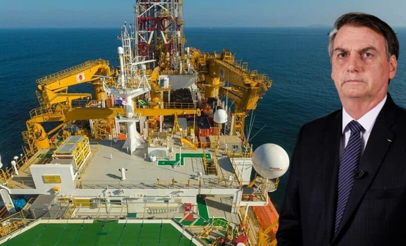 Governo Federal Bolsonaro Construção Naval petróleo empregos Petrobras