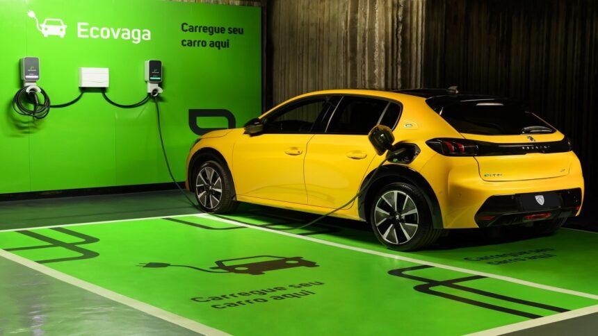 Stellantis - carros elétricos - recarga