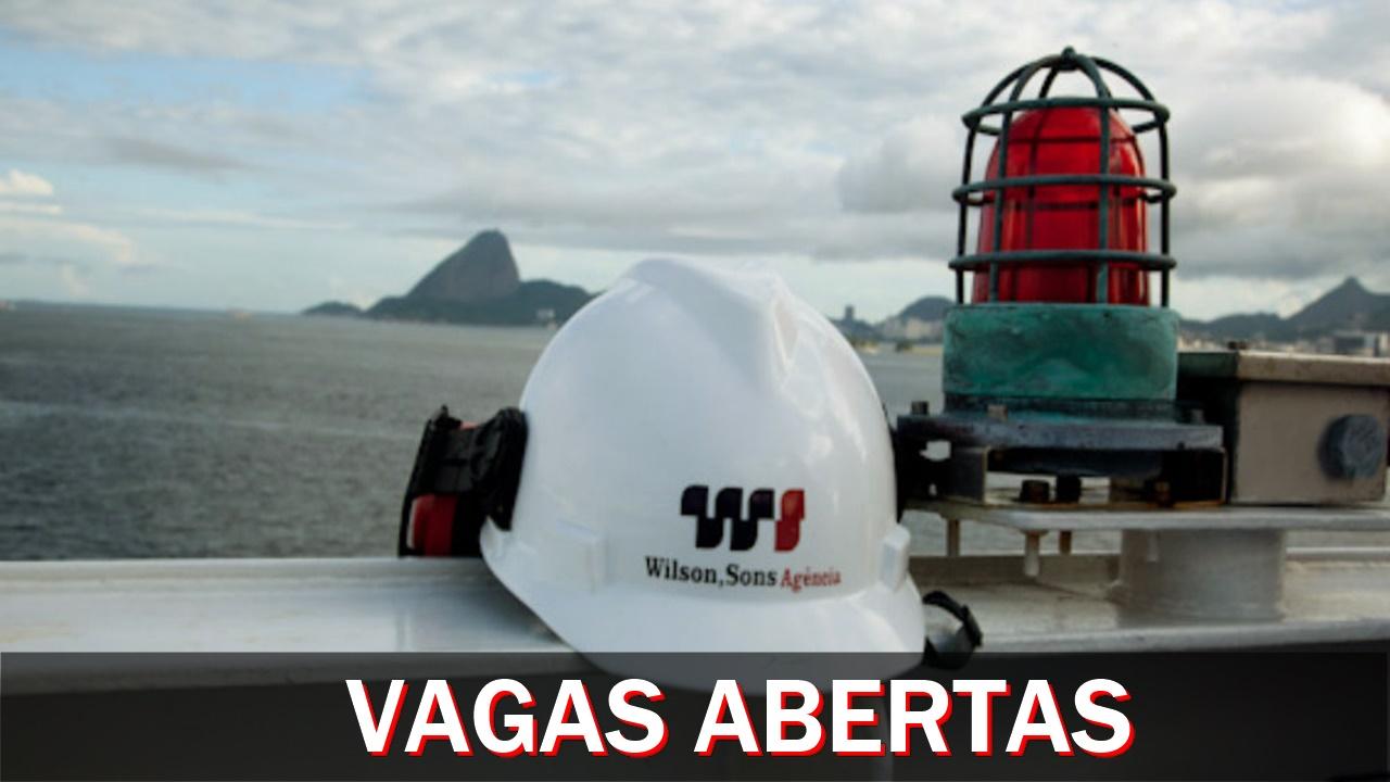 wilson sons - emprego - macaé -marítimo - vagas - macaé - rio de janeiro - santos - recife - bahia