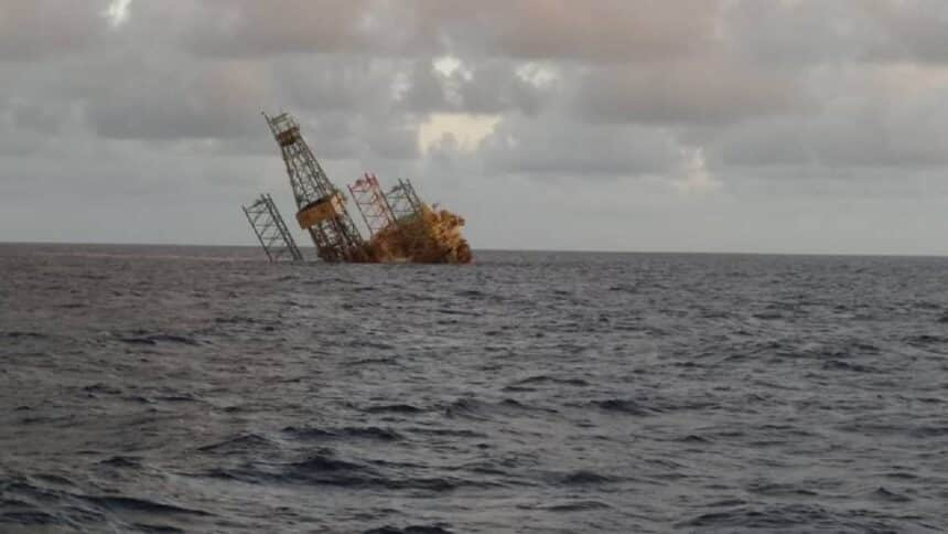 Offshore - Malásia - petróleo - tripulantes