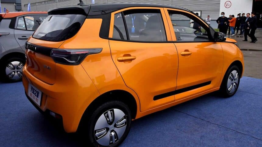 Carro elétrico - China - consumidores