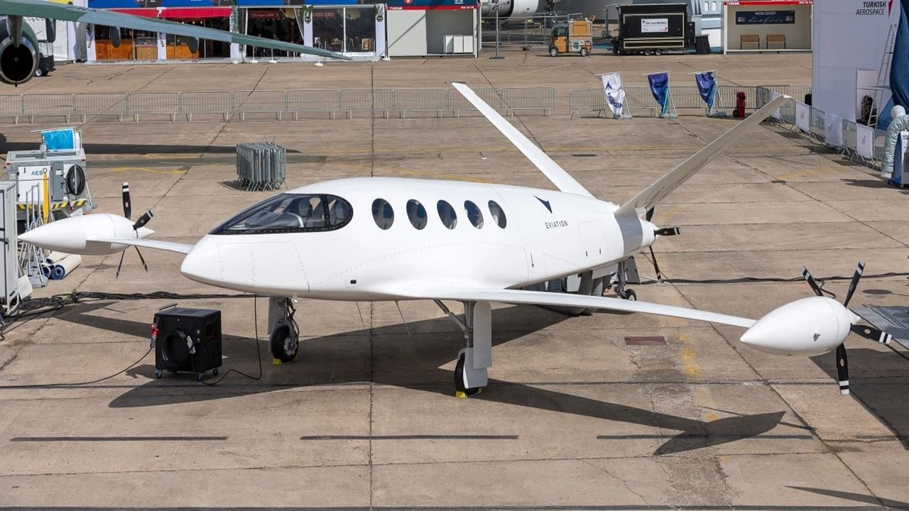 avião elétrico - eviation - motor elétrico - avião elétrico - bateria ion lítio