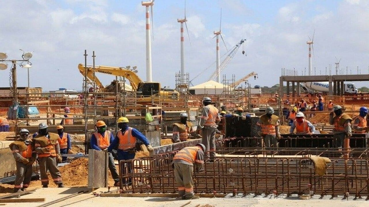 construção civil - emprego - minas gerais - vagas - obras