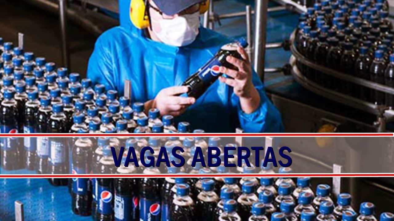 vagas - emprego - Pepsico - são paulo - rio de janeiro -minas gerais - sem experiência - ensino médio