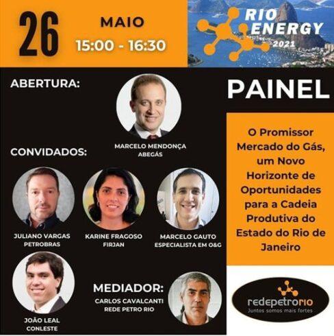Rio Energy 26 de maio de 2021 mercado de gás