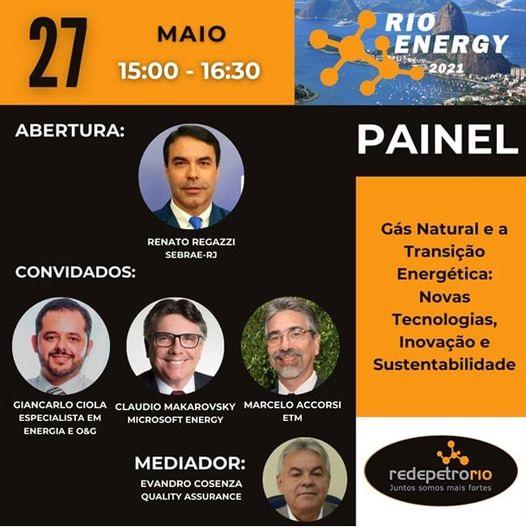 Rio Energy 27 de maio de 2021 Mercado de Gás