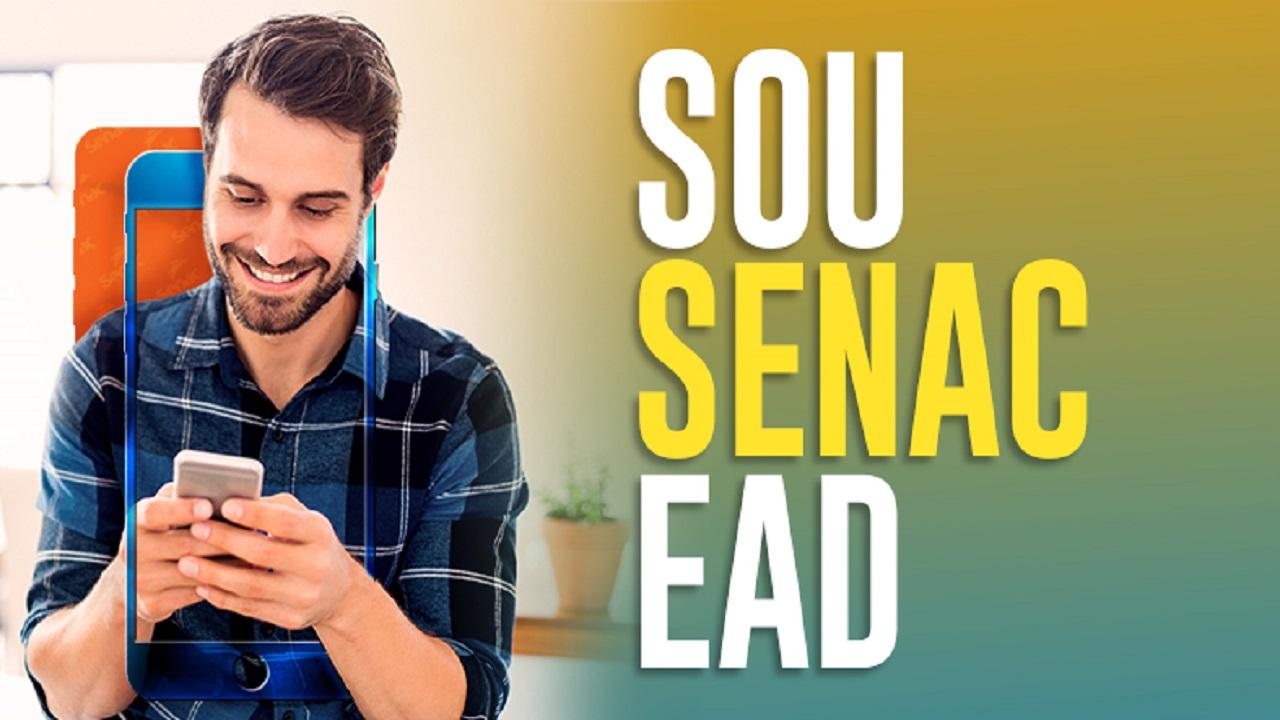 Senac 0 EAD - cursos gratuitos - logística -administração - programador