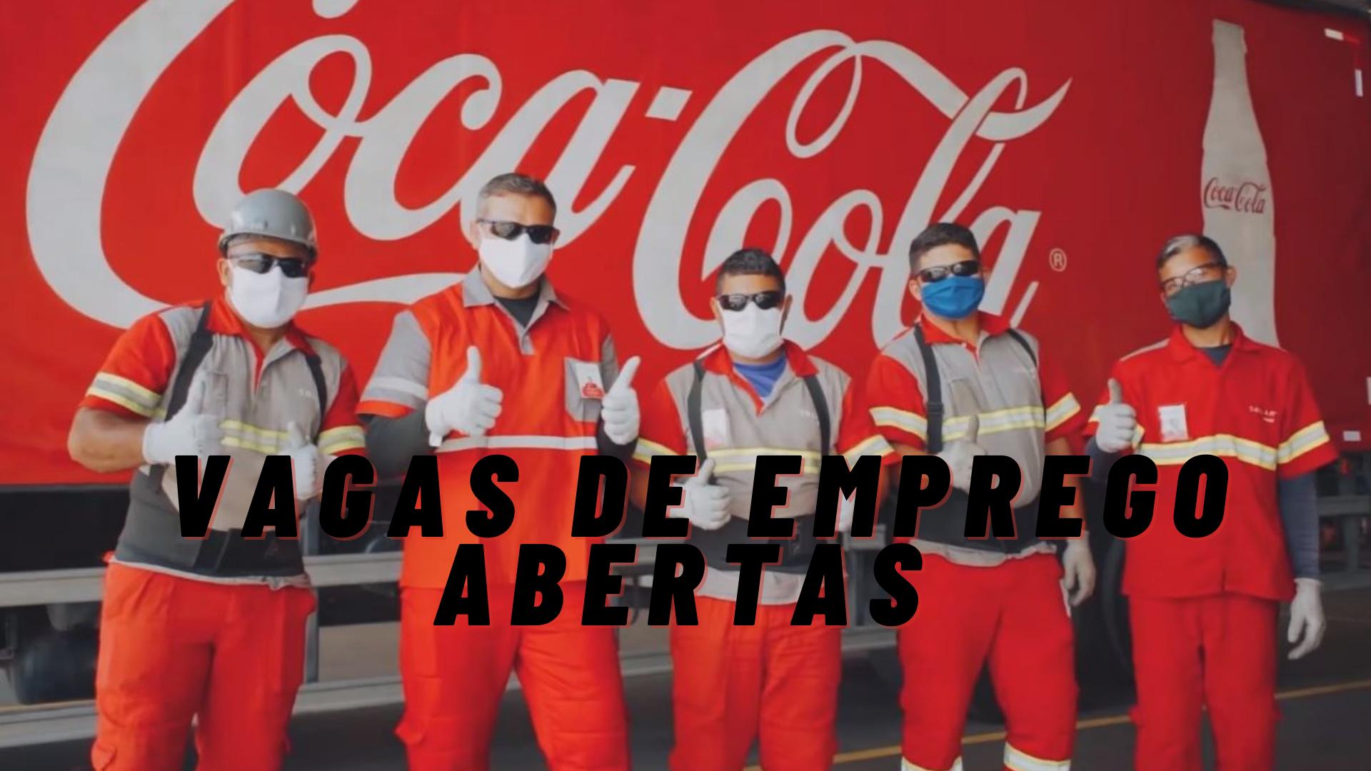 Coca-Cola – emprego – vagas de emprego