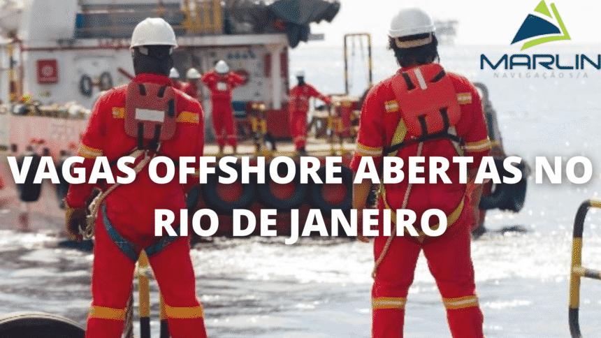 Vagas offshore – Rio de Janeiro - offshore