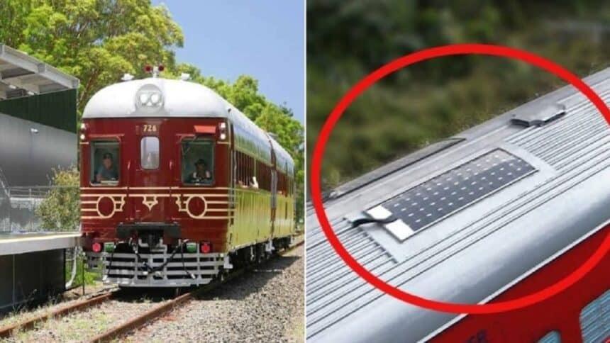 energia solar - trem - América latina