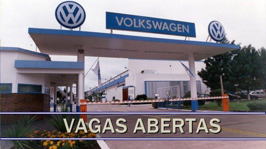 Volkswagen - Ford - Chevrolet - fusca - produção - SP - vagas - emprego - trainee - sem experiência