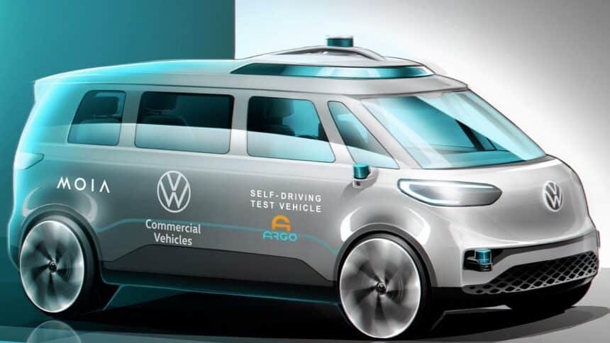 Volkswagen - Multinacional - carros eelltricos - micro ônibus - motorista