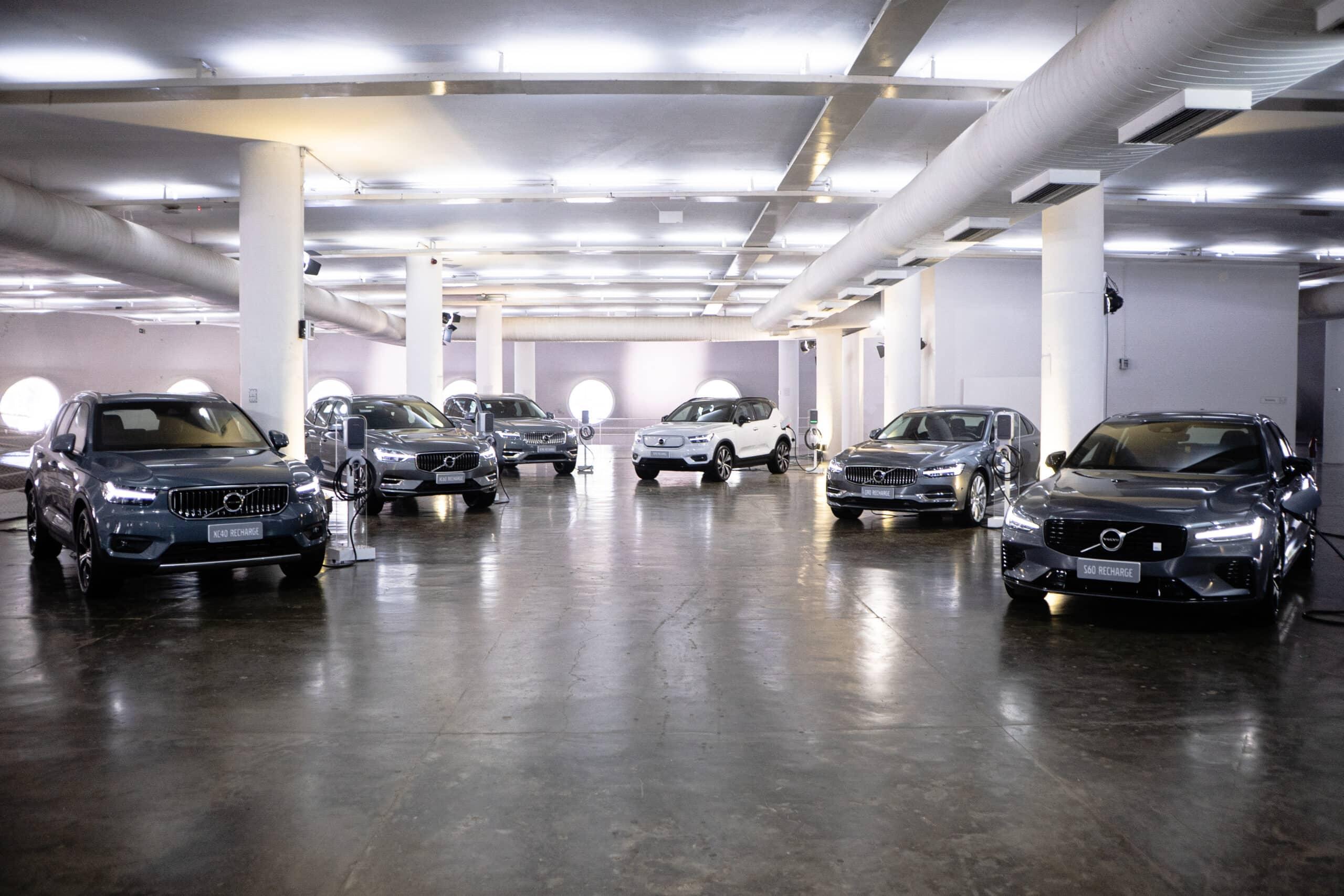 Volvo - motores a combustão - gasolina - diesel