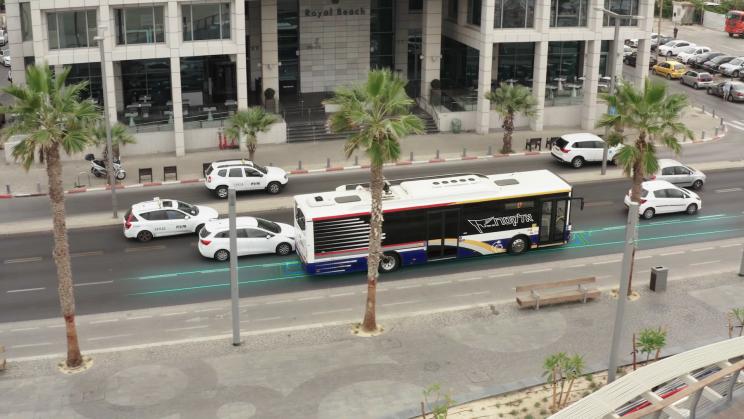 veículos elétricos energia limpa Israel rodovia