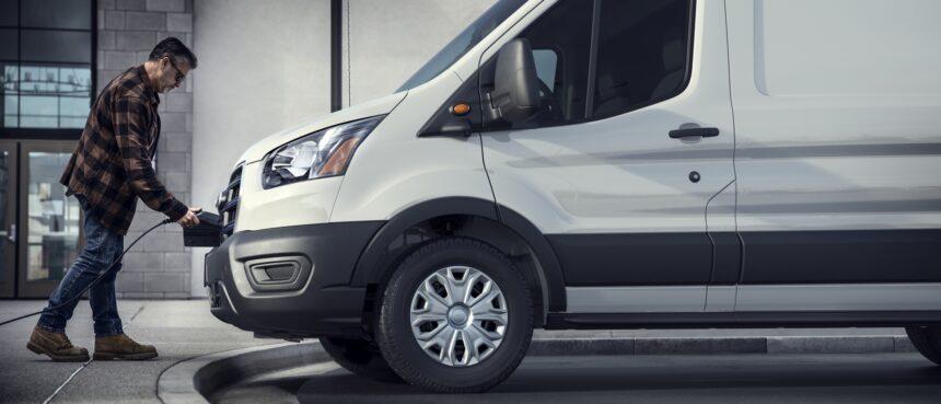 Ford carro elétrico van elétrica preço
