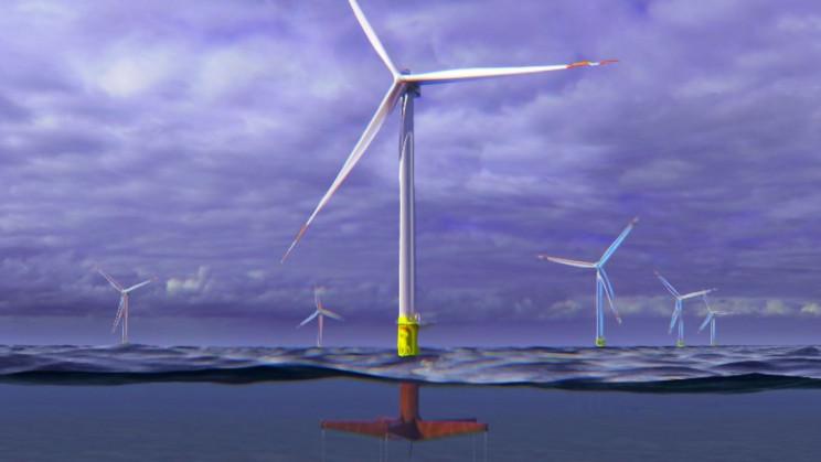 energia eólica plataforma de geração de energia flutuante