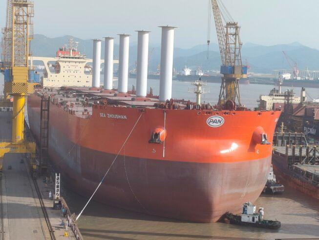 navio energia vale carbono