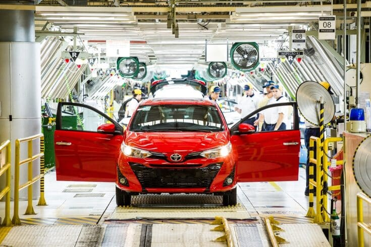toyota empregos investimentos brasil carros