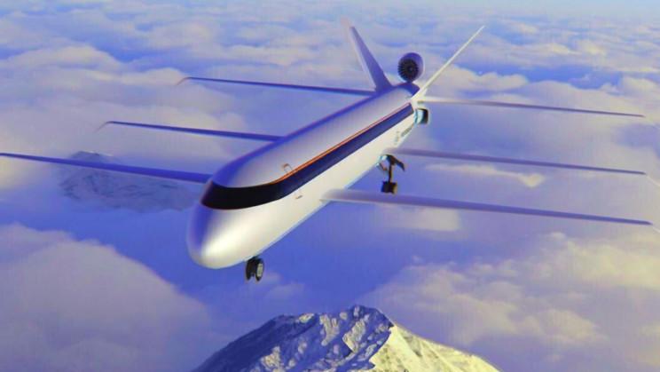 avião combustível emissão de carbono