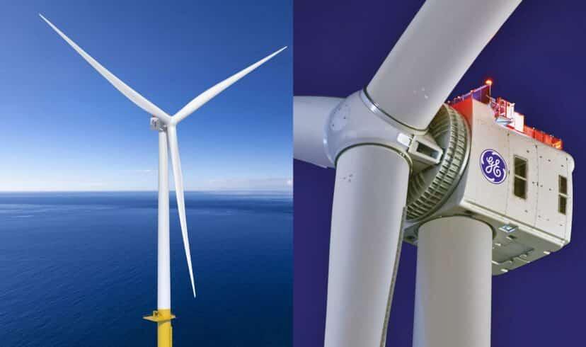 Energia eólica - offshore - turbina