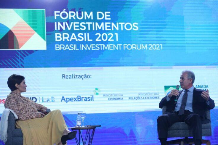 Ministro de Minas e Energia diz que o Brasil tem ambiente propicio para investimento em energia e mineração; setor deve ganhar até R$ 400 milhões nos próximos anos